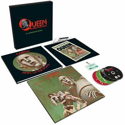 Queen - News Of The World 40Th Anniversary Edition Box Set [New & Sealed]