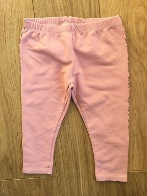 Zara Baby Girl Pink Sweatshirt Brushed Leggings Pants 18-24 Months 2-3 Years 💞