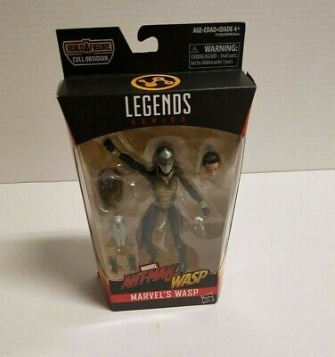 Legends Marvel Ant-man and the Wasp Build a Figure Cull Obsidian Marvel's Wasp
