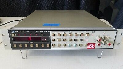 HP Agilent 3455A Digital Voltmeter Tested Fast Free Shipping - WHB (a)