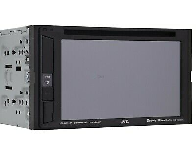 "JVC KW-V250BT 6.2"" Double-Din Bluetooth DVD/CD/USB Car Receiver AM FOR PARTS☝"