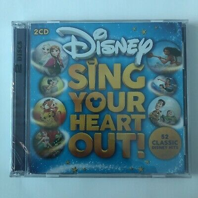 Disney Sing Your Heart Out 2-Discs CD Brand NEW & Sealed 52 hits Music 2019