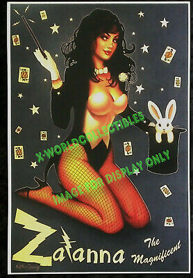 NATHAN SZERDY - ZATANNA THE MAGNIFICENT ART PRINT SIGNED  - 12x18