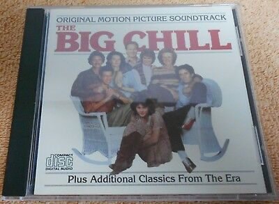 The Big Chill OST Soundtrack CD Album Motown Full Silver 1984 BMG Direct rare