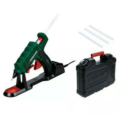 Parkside Cordless Hot Glue Gun PHP 500 E3 With 3 Glue Sticks & Carry Box