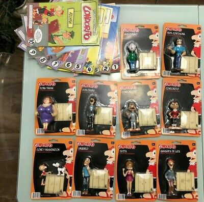 CONDORITO & FRIENDS, Complete Collection of 10 Collective figures.