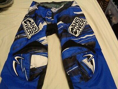 New NWT Answer A14 2014 ION Mens MX Motocross Racing Pants Blue Green Size 32