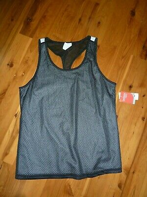 8182c446da DANSKIN NOW WOMEN'S Tank Top Size Large 12-14 Blue Gray Dri More New ...