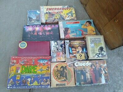Vintage Board Games, some old some new,as shown, bargain