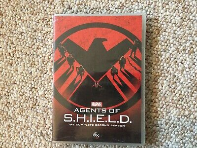 Marvel Agents of SHIELD The Complete Second Season New (DVD, 2015. 5-disc)