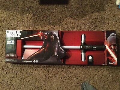 Star Wars Force Awakens Kylo Ren Ultimate Fx Lightsaber Exclusive Toys R Us