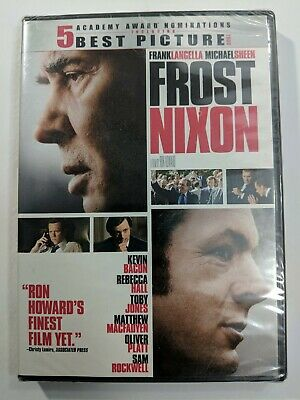 Frost Nixon DVD Frank Langella, Michael Sheen, Ron Howard NEW