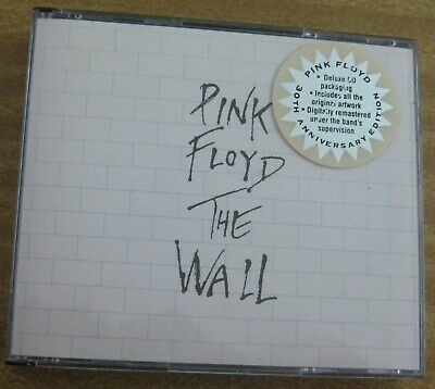 1 X Cd (2 Discs) - Pink Floyd - The Wall - With Booklet - 1979