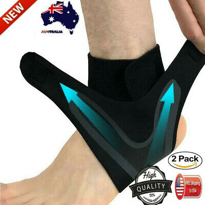 Adjustable Elastic Ankle Sleeve Elastic Ankle Brace Guard Foot Support Sports Ge