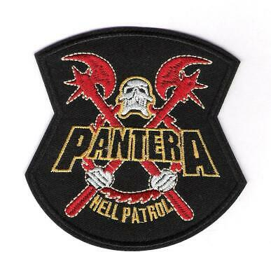 patch embroidered / écusson thermocollant Pantera Hell Patrol