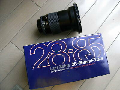 CONTAX Carl Zeiss Vario-Sonnar T* 28-85mm F/3.3-4 MMJ Lens for CY Mount