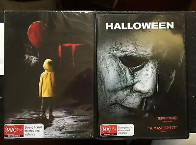 IT (2017) Brand New & Sealed And Halloween 2018 Like New, Horror, DVD R4