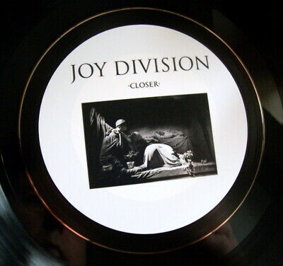 Joy Division Closer Unique Hand Crafted Retro Vinyl Lp Bowl Quality Ideal Gift