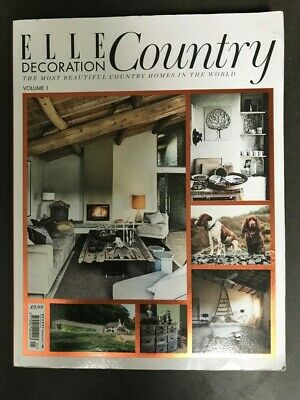 Well Read Elle Decoration Country Magazine Volume 1 (2012)