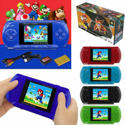 New Handheld Portable Pvp 3000 Games Console Retro Megadrive Ds Video Game Uk