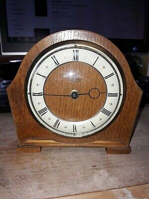 Vintage Smiths Small 30 hour Mantle Clock.