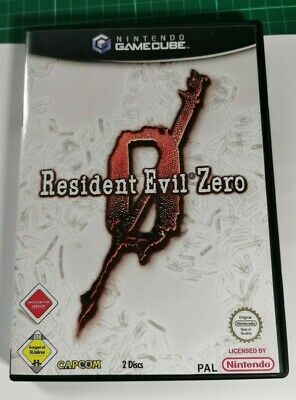 Nintendo GameCube replacement game case and Cover Resident Evil zero