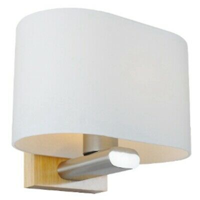 Nordic Modern Sconce Glass Led Wall Lamps Stairs Wooden Led Wall Light Bedr I7G6