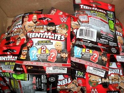 Wwe Teenymates Lot Of 24 Sealed Packs 2 Per Pack Figures New