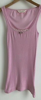 Peter Aleanxder Pink Singlet PJ Top. Super Soft. Size XS. Collect Or Post