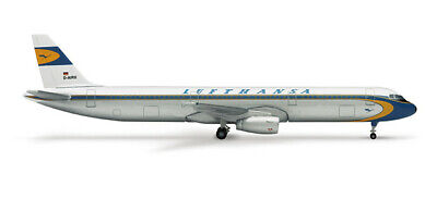 "Herpa Wings 1:500 514637  Lufthansa Airbus A321 ""Retro"""