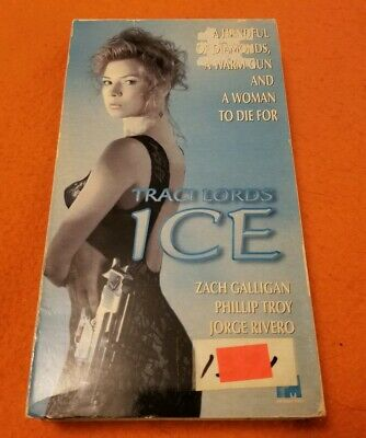 Ice VHS PM Home Video Traci Lords Zach Galligan Phillip Troy