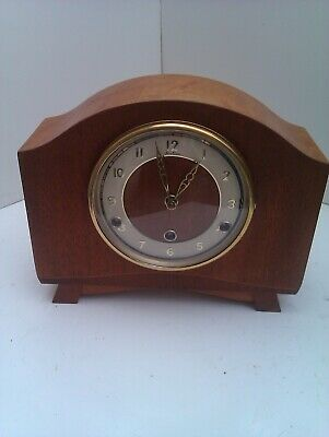 An Old Westminster Chime Mantel Clock With A Platform Escapement In Full Working