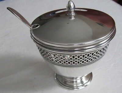 """TIFFANY & CO MAKERS  Sterling Silver Bowl 4""""& Tiffany Sterling Spoon Perfect"""