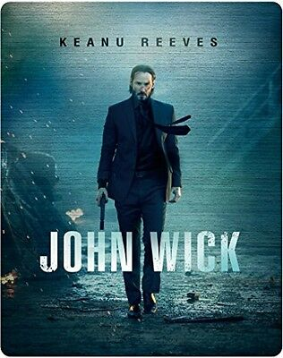 Keanu Reeves John Wick Collector's Edition 2 Blu-ray Steelbook from Japan F/s
