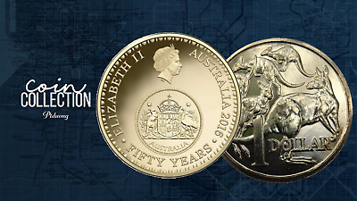 2016 $1 One Dollar Coin 50th Year Decimal currency Anniversary Changeover