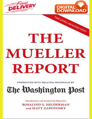 (e-Boook) The Mueller Report by The Washington, 2019