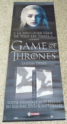 Plv Recto-Verso Game Of Thrones Daenerys / Visuel Saison 3