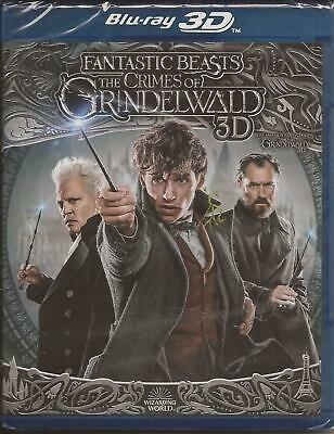 Fantastic Beasts The Crimes Of Grindelwald Blu-Ray 3D + Blu-Ray New Sealed 2019