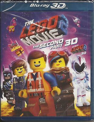 THE LEGO MOVIE 2 The Second Part BLU-RAY 3-D + BLU-RAY 3D NEW SEALED 2019