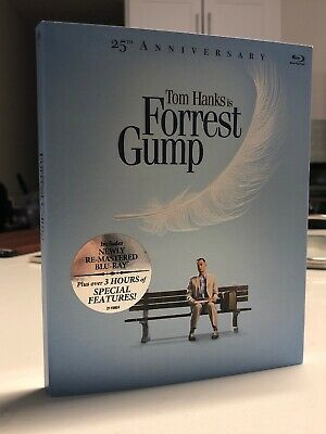 Forrest Gump Blu-Ray - 25Th Anniversary Edition - New Unopened - Tom Hanks