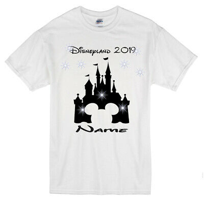 I Am Going To Disneyland Kids Personalised T-shirt, Any Character,  Age 1-13