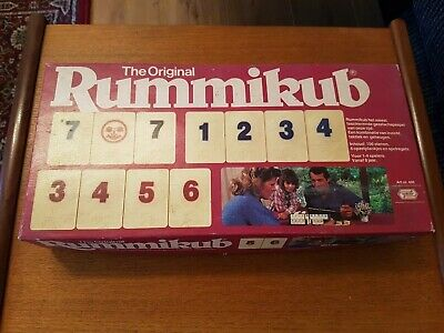 Vintage Rummikub The Original Classic 100% Complete Tile Game Goliath Rummy