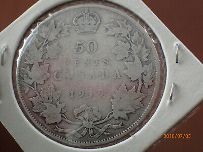 Canada 1919 NFLD Fifty Cents