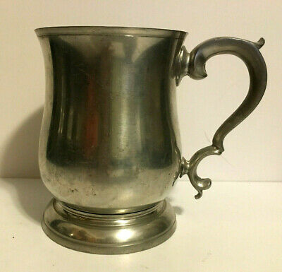 Stieff Pewter Williamsburg Tankard Cw55-15 Stein Vintage Quality C
