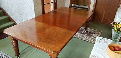 Victorian Mahogany 12 Seater Dining Table Joseph Fitter Mechanism