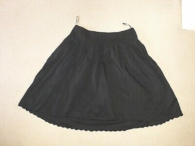 Pretty Size 10 Black Mothercare Maternity Skirt See Pics!!
