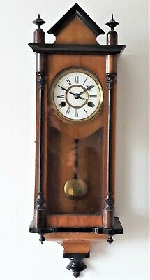 Antique Small Size Striking Wall Clock