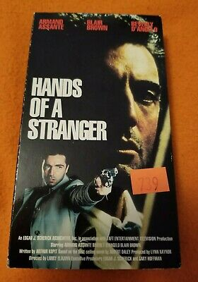 Hands of a Stranger VHS World Vision Home Video Armand Assante Beverly D'Angelo