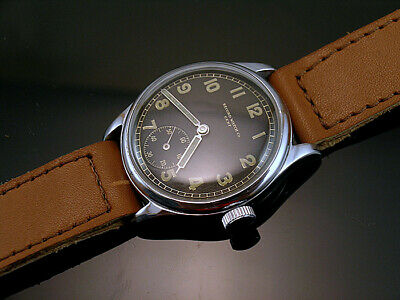 RECORD DH , RARE MILITARY WRISTWATCHES for GERMAN ARMY, WEHRMACHT of WWII