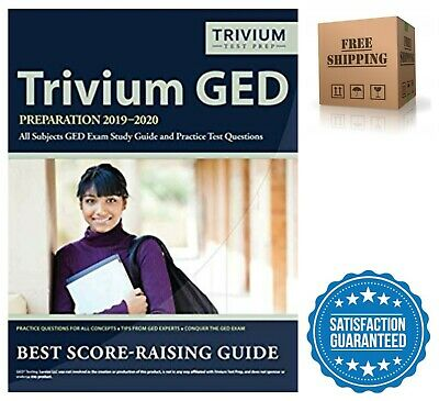 Trivium GED Preparation Exam Study Guide and Practice Test Questions 2019-2020